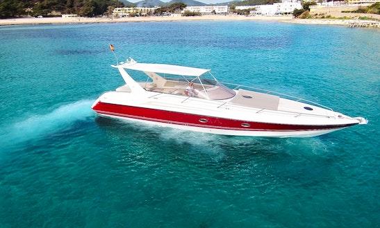 Charter 46' Sunseeker Appache Motor Yacht In Santa Eulària Des Riu, Spain