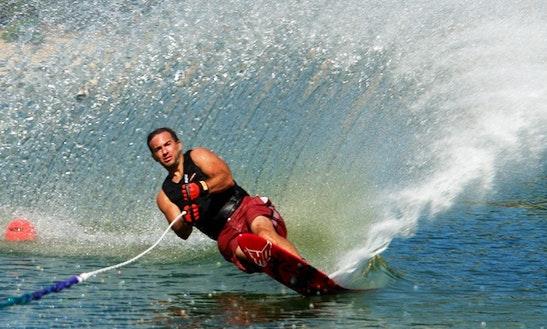 Enjoy Water Skiing In Oliva, Spain