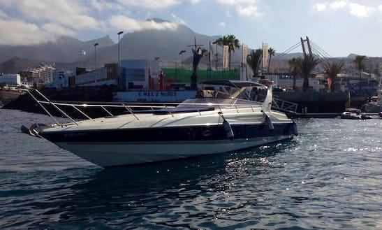 Charter Sunseeker Apache 45 Motor Yacht In Costa Adeje, Spain