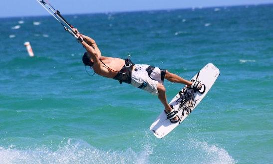 Kiteboarding In Pompano Beach