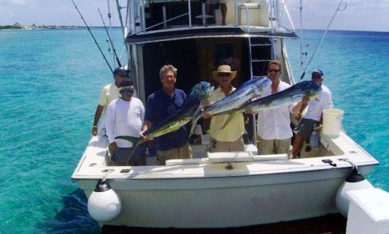 40' Sport Fisherman Charter In Cozumel, Quintana Roo