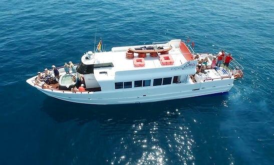 Charter 59' Sea Experience Power Mega Yacht In Marbella, Spain