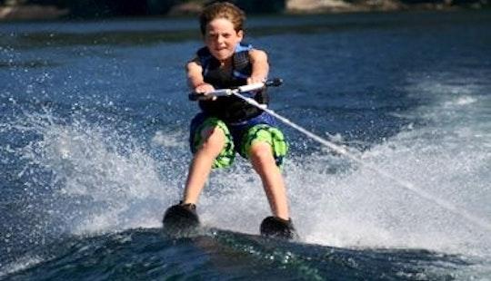 Enjoy Water Skiing In Rethymno, Greece