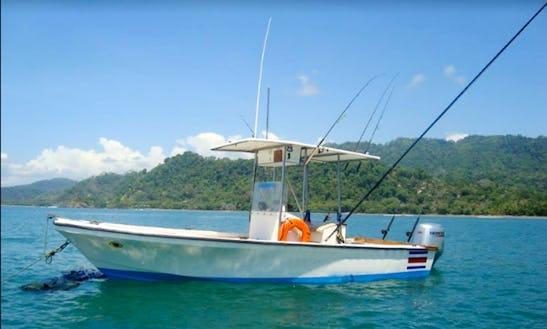 Enjoy Fishing In Provincia De Puntarenas, Costa Rica On Center Console