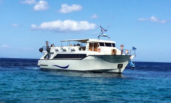 Charter 95' Passenger Boat In Kefallonia, Greece