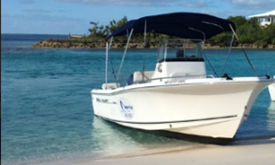 Charter A Center Console With An Experienced Guide In Exuma, Bahamas