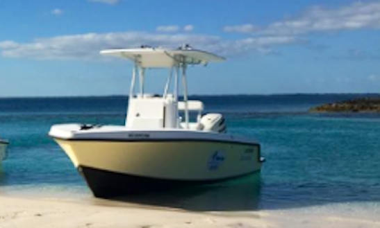 Explore Guana Cay Islet On A Center Console Boat!