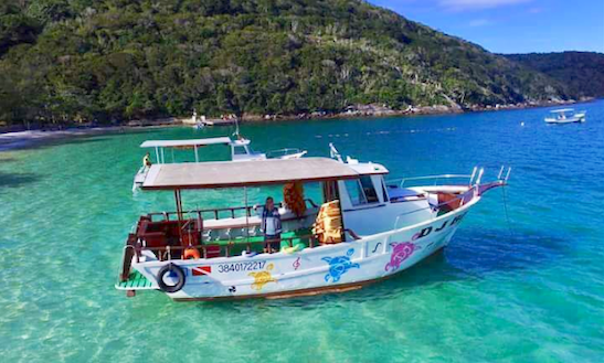 Exciting Boat Trip In Arraial Do Cabo, Brazil!