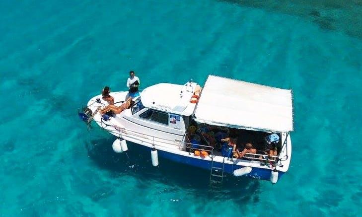 Enjoy Fishing in Trachilos, Greece on a Cuddy Cabin