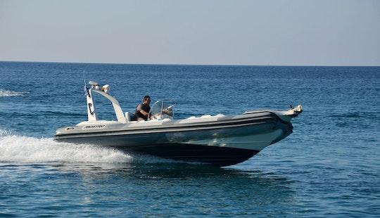 Charter 26' Armageddon Rigid Inflatable Boat In Kalivia Thorikou, Greece