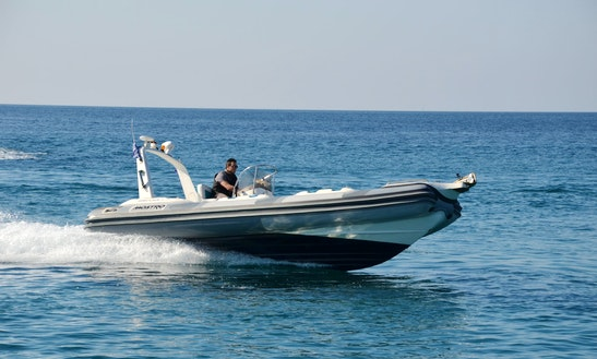 Charter 26' Armageddon Rigid Inflatable Boat In Kalivia Thorikou, Greece