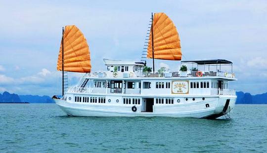 Halong Bay Cruise On Golden Lotus