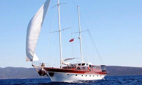 87' Sailing Mega Yacht Trips In Mugla, Turkey