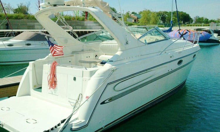 6 passenger Motor Yacht in Chicago, Illinois (Captained charters only)