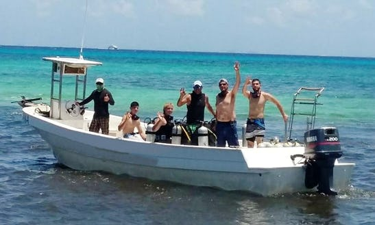 Boat Diving Tours And Padi Courses In Playa Del Carmen, Mexico