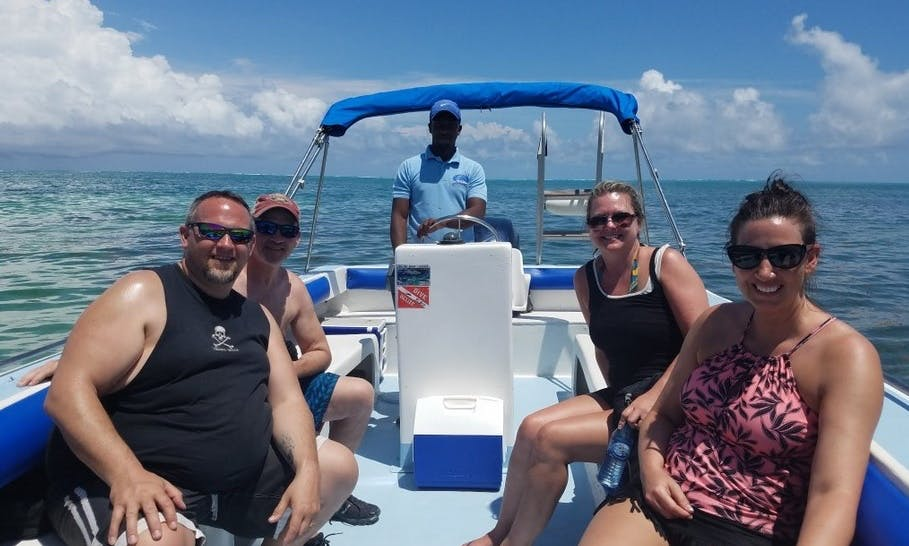 Snorkeling Excursion in Belize City on our Tours!