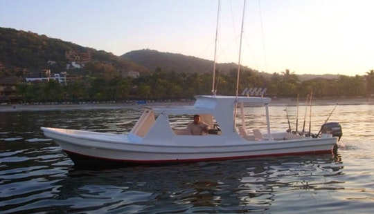 26ft Super Panga Fishing Trips With Capt Victor In Puerto Vallarta