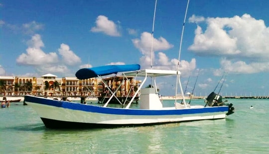 Enjoy Fishing In Playa Del Carmen, Mexico On Centre Console
