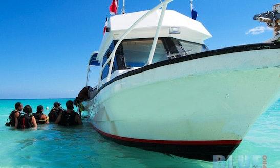 33' Dive Boat In Playa Del Carmen