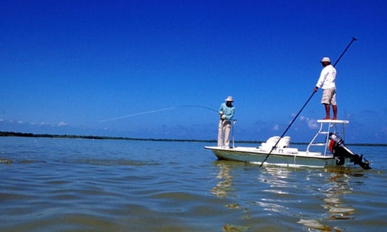 Saltwater Flats Fishing In Mexico's Yucatan Peninsula