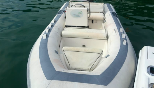 Charter 15' Rigid Inflatable Boat In Parham Town, British Virgin Islands