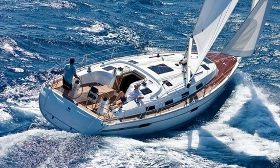 Charter 41' Bavaria 40 Cruiser Cruising Monohull In Malia, Greece