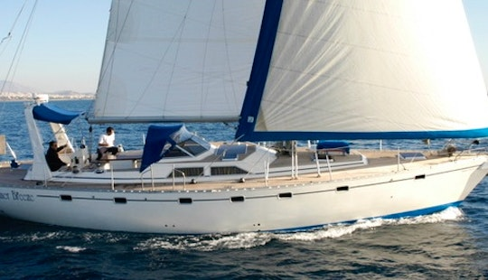 Charter 54' Summer Breeze Cruising Monohull In Glifada, Greece