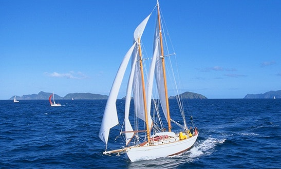 Charter 67' Arcturus Schooner In Auckland, New Zealand