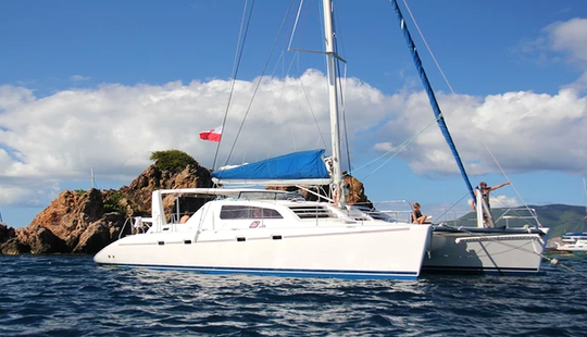 Charter 47' Leopard Cruising Catamaran In Cupe Coy, Sint Maarten