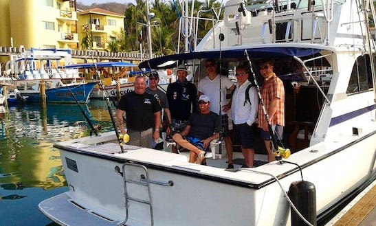 35' Fishing Boat In Huatulco