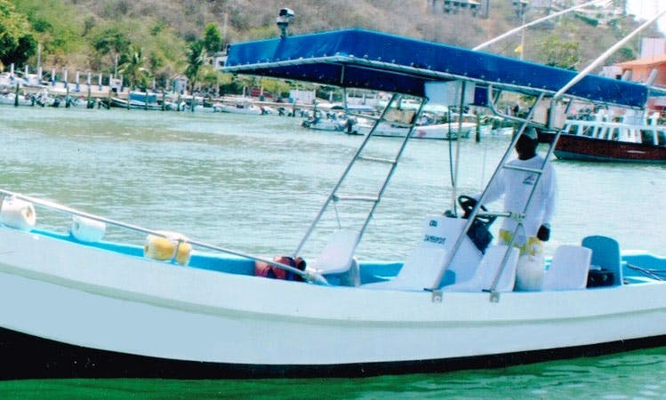 25' Panga Boat In Crucecita