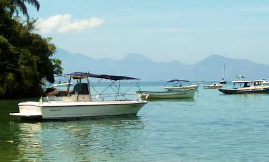 Rent A 23 Person Center Console In Angra Dos Reis, Brazil