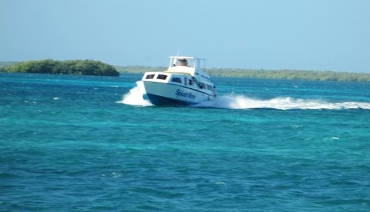 Inboard Propulsion Boat Rental In Belize City