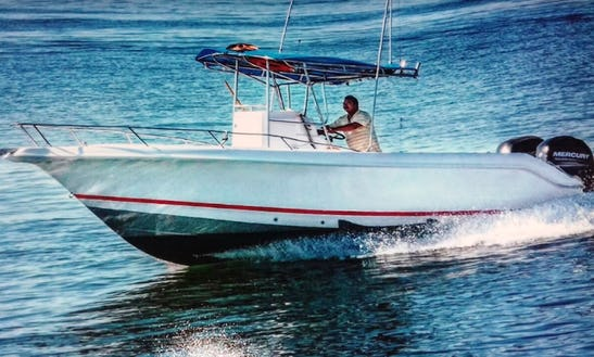 Enjoy Fishing In Puerto Vallarta, Mexico On Bella Del Mar I Center Console