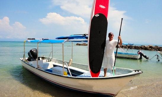 24ft Center Console Boat Rental In Punta De Mita, Mexico
