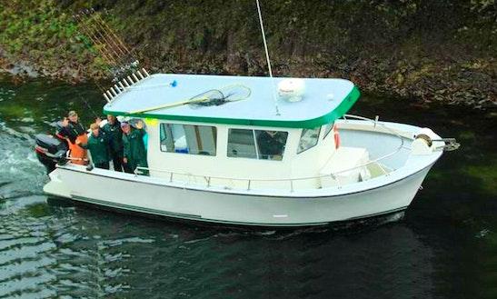 Trawler Charter In Elfin Cove, Alaska