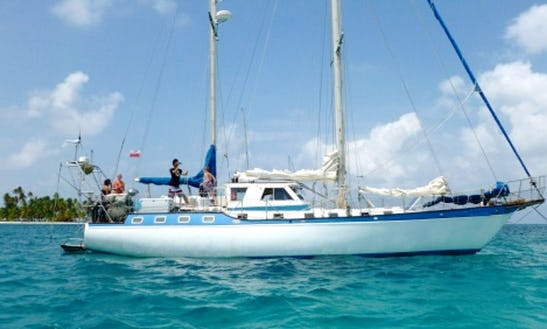 Charter 56ft Ketch Sailing Yacht In Portobelo, Panama