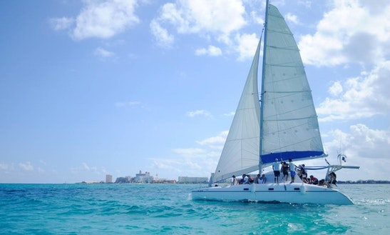 35 Ft, Sailing Charters From Playa Mujeres, Cancún