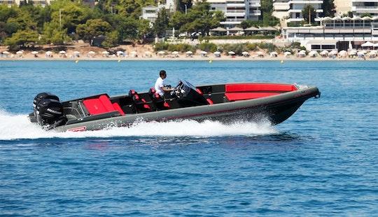 Charter 33' Skipper Nc Rigid Inflatable Boat In Paleo Faliro, Greece