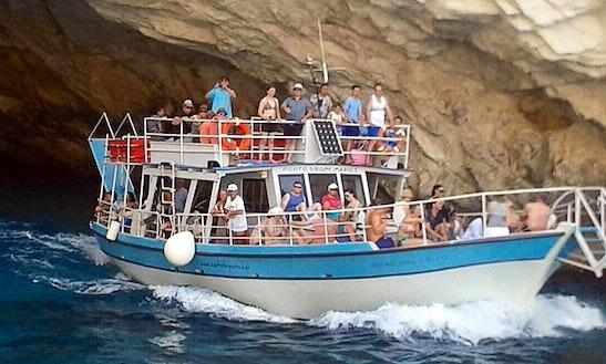 Charter Ionian Star Passenger Boat In Zakinthos, Greece