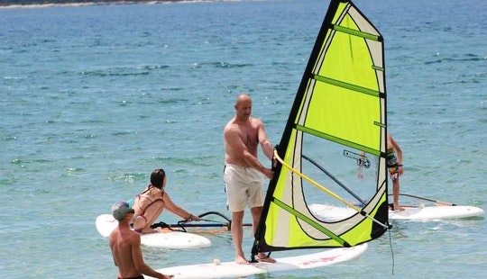 Enjoy Windsurfing In Chalkidiki, Greece