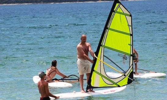 Enjoy Windsurfing In Chalkidiki, Greece