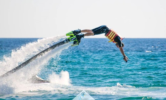 Enjoy Flyboarding In Chalkidiki, Greece