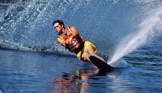 Enjoy Water Skiing In Chalkidiki, Greece