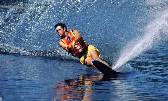Enjoy Water Skiing In Chalkidiki, Greece