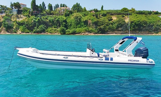 Charter Anemos Rigid Inflatable Boat In Planos, Greece