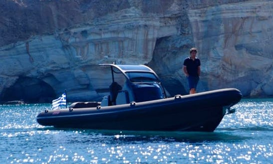 Charter 11' Take Off Rigid Inflatable Boat In Ornos, Greece