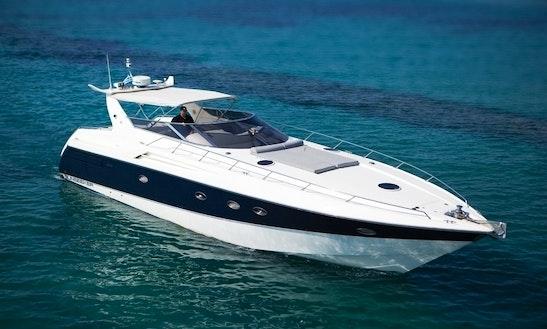 Charter 55' Sunseeker Power Mega Yacht In Pirgos Sani, Greece