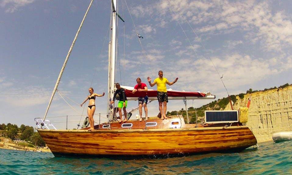 Charter a Cruising Monohull in Kefallonia, Greece