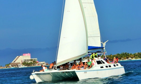 41 Ft. Sailing Charters From Playa Mujeres Cancun